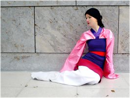 Walt Disney: Mulan by y-moony-y