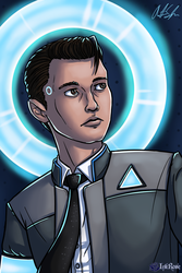 Connor Artwork by InkRose98