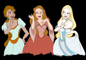 Their highnesses by Domnics