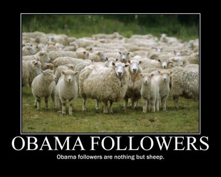 Obama Followers by Balddog4