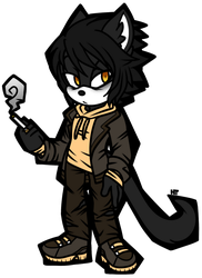 ::SET PRICE (CLOSED):: Clyde The Jaguarundi by HumbleTrickster