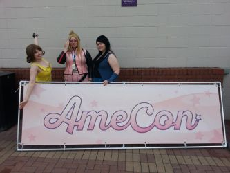 AmeCon 2016 - Rinoa, Selphie and Quistis by Ether-Enereon