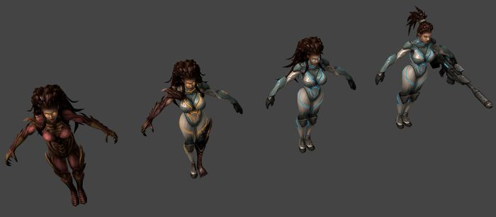 Kerrigan Evolution by PhillGonzo