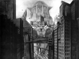 Metropolis vs Castle Crab by Dshotinthefacepirate