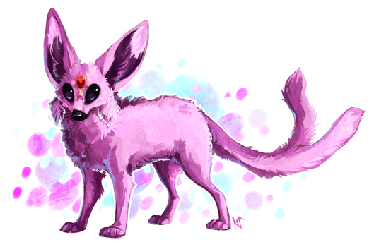 Espeon by Susiron