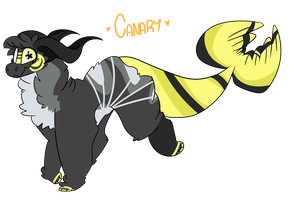 { OC } CANARY! by CANDY-BEE