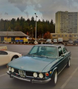 1970s BMW E3 New Six/Bavaria by humloch
