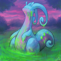 Goodra -Draw Me a Pokemon- [RETOUCHED]