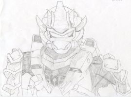 Halo- Hayabusa Armor (SS2012) by TheXHunter08