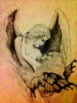 Eros and Psyche by abhijeetr2