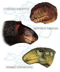 Chinese Therapsids by FinwalSMD