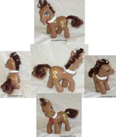 Dr. Whooves FiM Custom My Little Pony G4 by mayanbutterfly