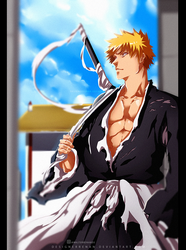 Bleach 685 - Last chapter With Speed Process by DesignerRenan