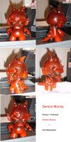 demon munny finished by ducttapequeen