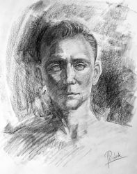 Tom Hiddleston by RoanNna