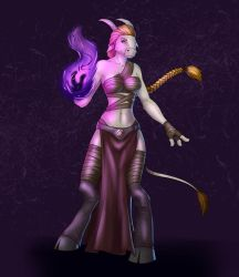 Shadow priest commish by lonelion4ever