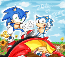 20 years of sonic by missyuna