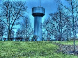 Watertown Tower, HDR by Lectrichead