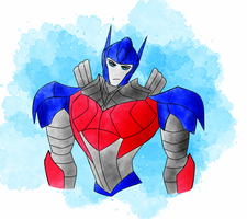 AOE Optimus Redesign by PrincessLoki15