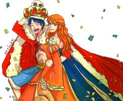 OP: King and Queen of Pirates! by LiniAriva