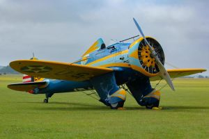 Boeing P-26A Peashooter by Daniel-Wales-Images