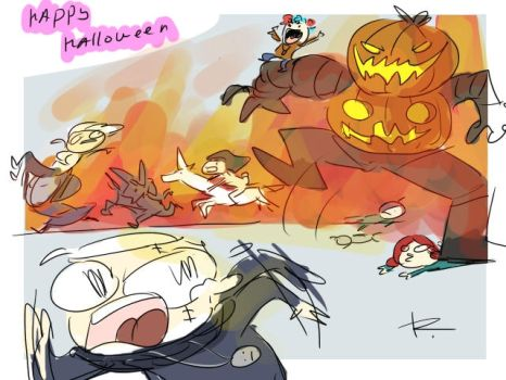 The Witcher 3, doodles 256 by Ayej
