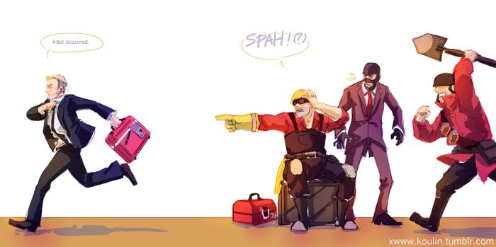 There's a spah around 'ere by inklou