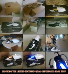 Unboxing the Portal Gun replica from NECA by Naime8