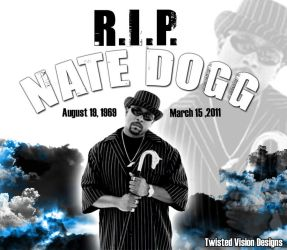 R.I.P. NATE DOGG by effex213