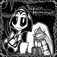 Various Happenings - Our Adventurers by grayscalerain
