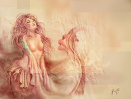 Mermaid-doodle by KytCordell