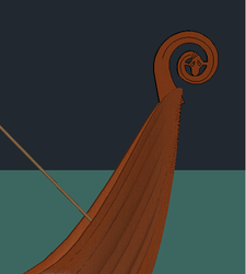 Head of Viking Boat by Mistress-of-Emotions