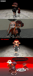 GMOD Splatoon - Rahman's New Gear and Evil Rahman by thebestmlTBM
