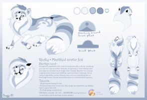 Ricky Ref Sheet of Death by DragonCat-Ink