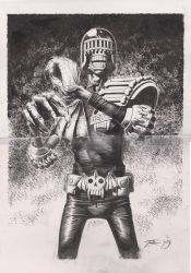 Judge Death Commission by TomRFoster