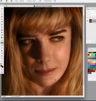 Digital art warm up REALISM exercise part 2 by chrisscalf