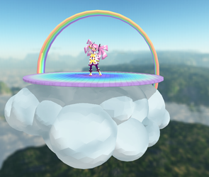 MMD: Rainbow Stage by MMDFakewings18