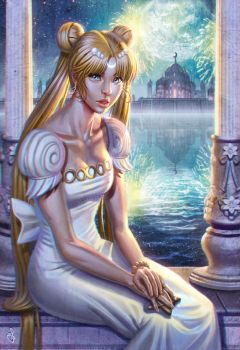 Princess Serenity by SaraForlenza