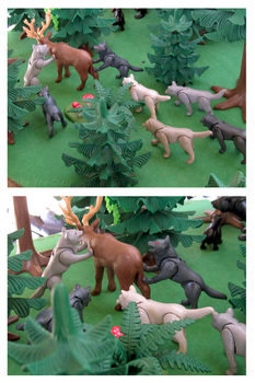 Playmobil Ravenwood - Elk Hunt by The-Toy-Chest