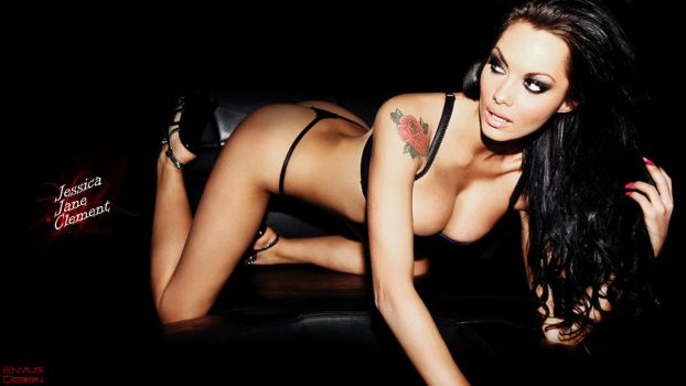 Jessica Jane Clement wallpaper by Envius88