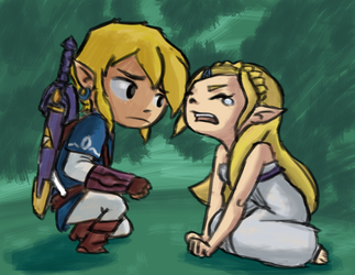 Breath of the Wild - Wind Waker Edition by miro42