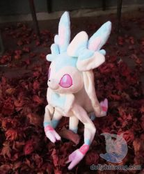 Pastel Shiny Sylveon by dollphinwing