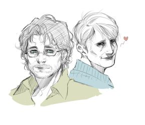 Will and Hannibal by Blazhxxx