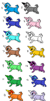 Free Adoptables #8 by Forepaws1