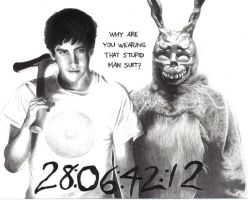 Donnie Darko Drawing by Nienova95