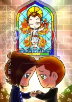 Paid commision: Wincest Wedding by KamiDiox