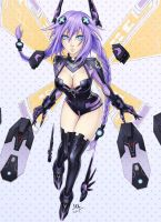 Purple Heart - Hyperdimension Neptunia by Sciamano240