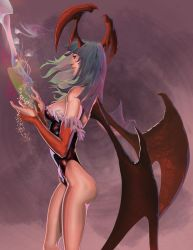 Morrigan by lancerdrake