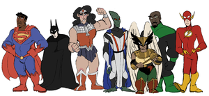 Justice League by exxo-yawning