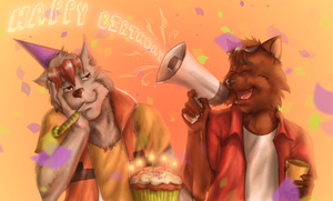 A Belated Birthday by Duces-Wild